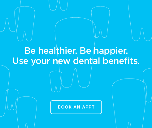 Be Heathier, Be Happier. Use your new dental benefits. - Firewheel Modern Dentistry